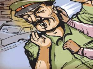 Bhopal Cop Attack Case