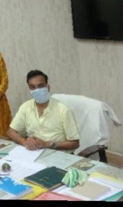 CMHO Pradeep Dhakad