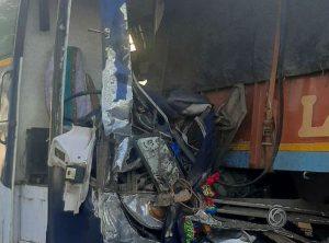 Sagar Bus Accident