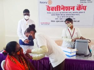 Rotary Club Vaccine Program