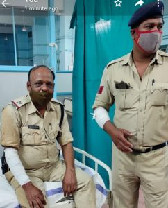Bhopal Attack On Cop