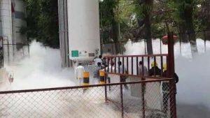 Oxygen Tank Leak Tragedy