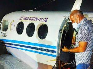 Air Craft Crash Landing
